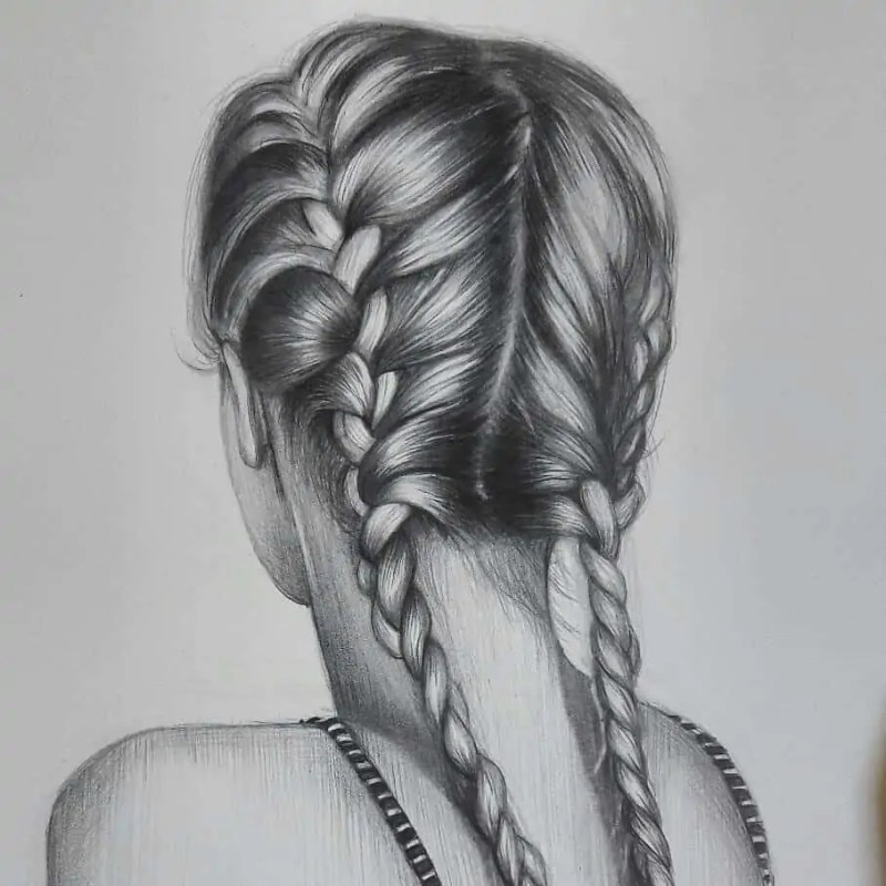 100+ Stunning Realistic Portrait Drawings 159