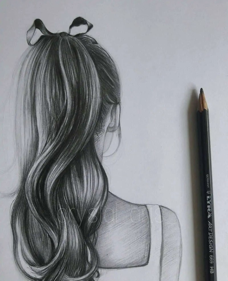 100+ Stunning Realistic Portrait Drawings 157