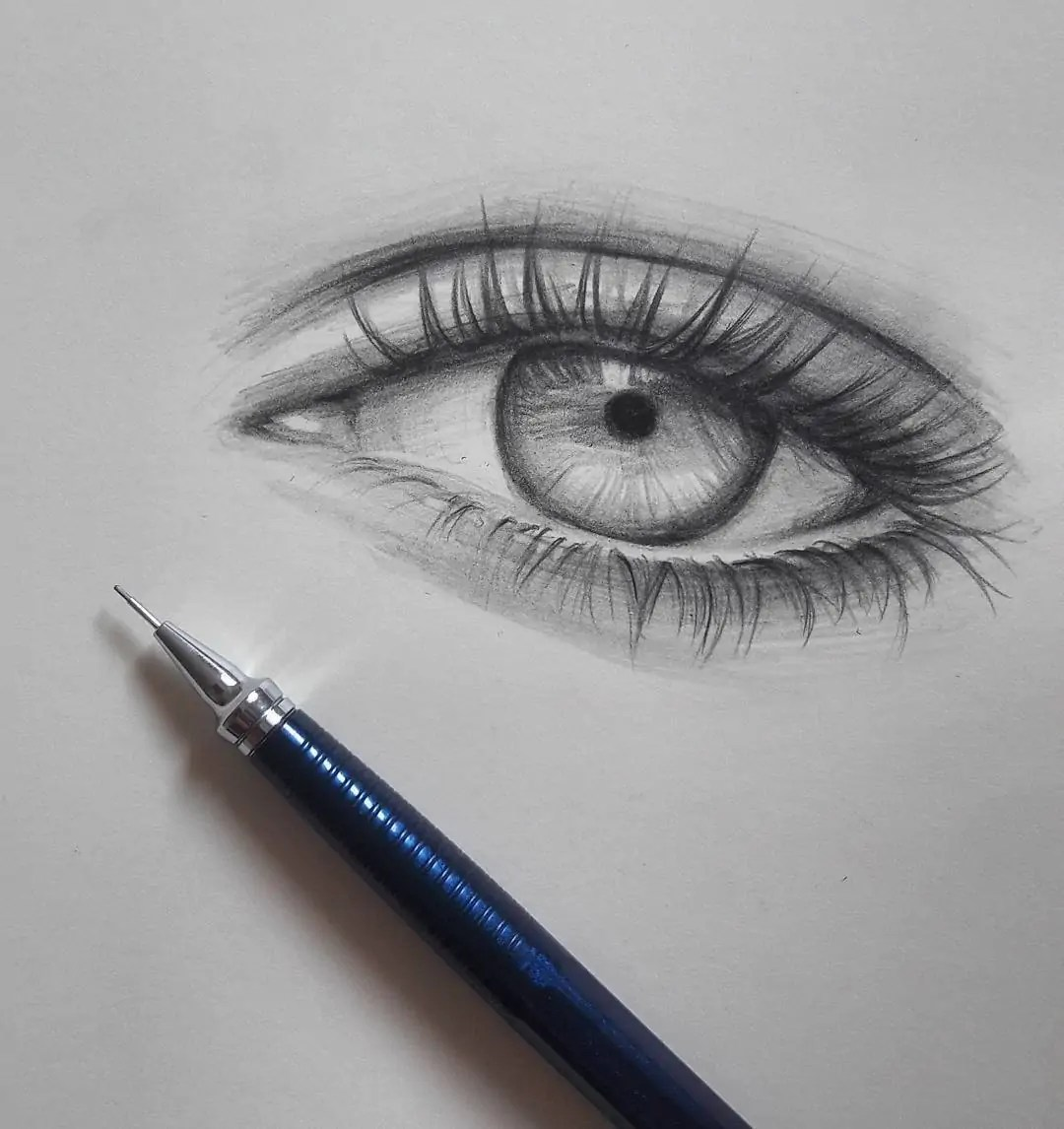 100+ Stunning Realistic Portrait Drawings 341