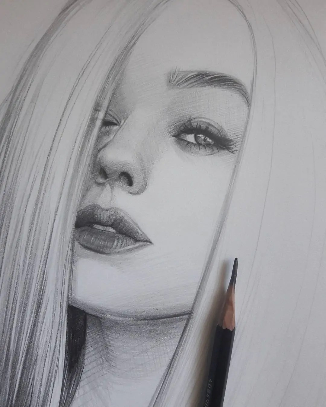 100+ Stunning Realistic Portrait Drawings 333