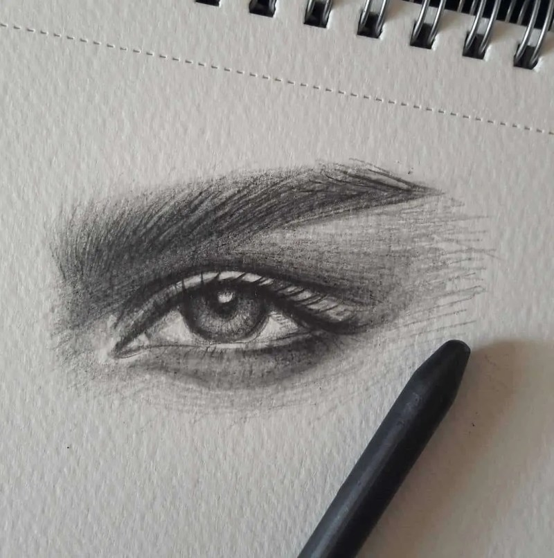 100+ Stunning Realistic Portrait Drawings 113