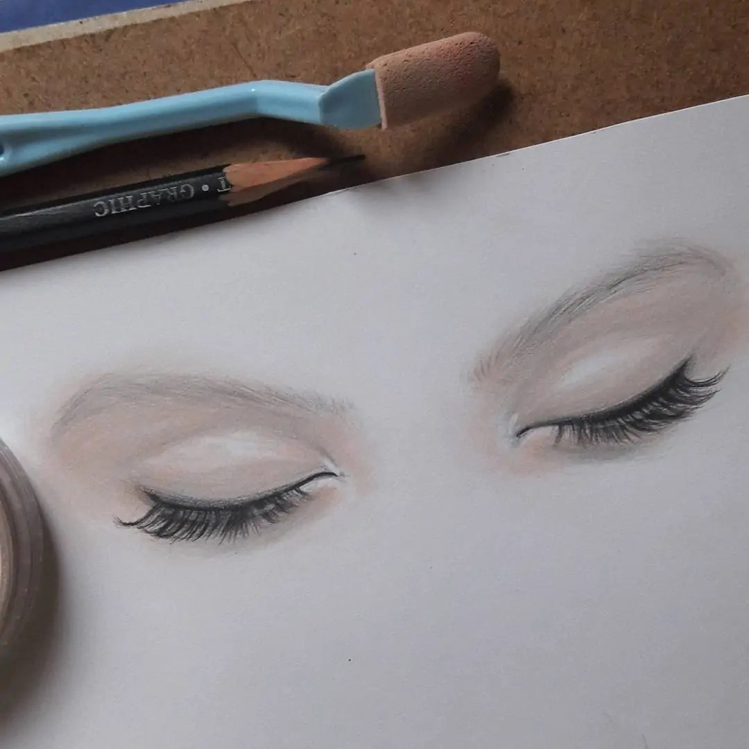 100+ Stunning Realistic Portrait Drawings 299