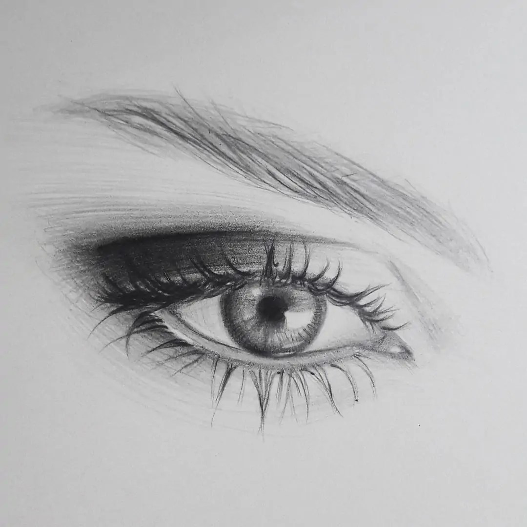 100+ Stunning Realistic Portrait Drawings 293