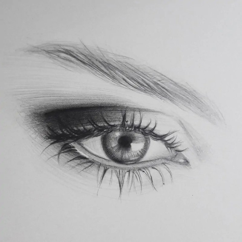 100+ Stunning Realistic Portrait Drawings 103