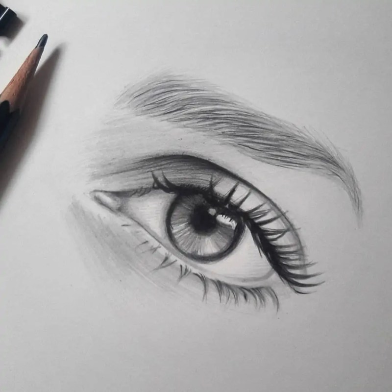 100+ Stunning Realistic Portrait Drawings 91