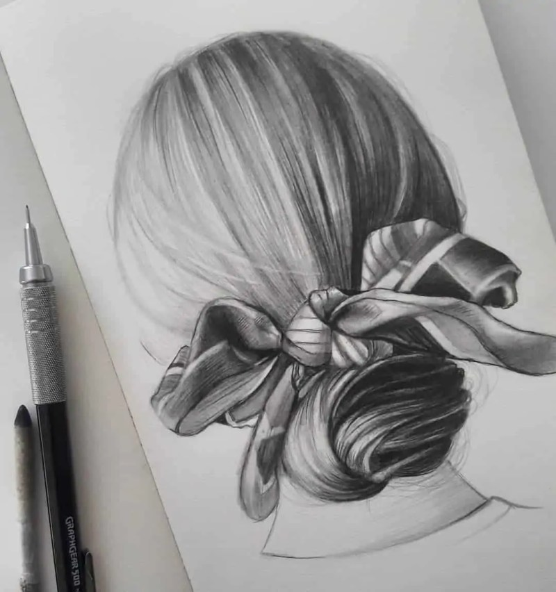 100+ Stunning Realistic Portrait Drawings 77
