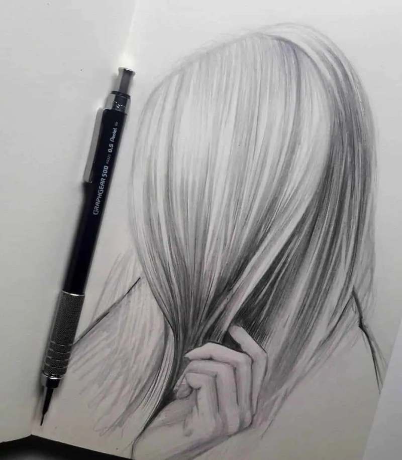 100+ Stunning Realistic Portrait Drawings 61