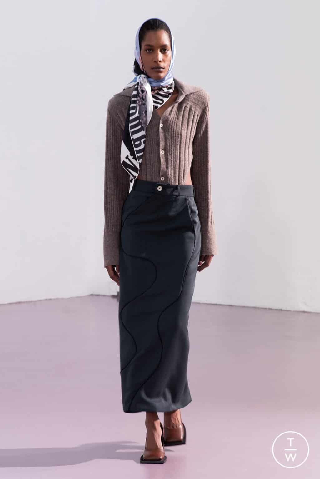 NINAMOUNAH FALL/WINTER 2021 — Look 17