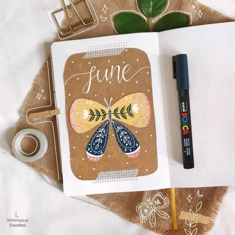100+ Bullet Journal Ideas that you have to see and copy today! 478