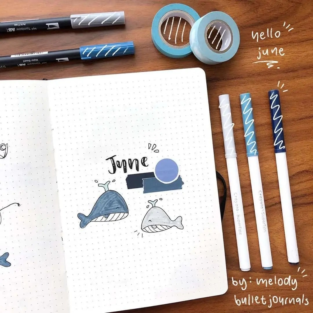 100+ Bullet Journal Ideas that you have to see and copy today! 222