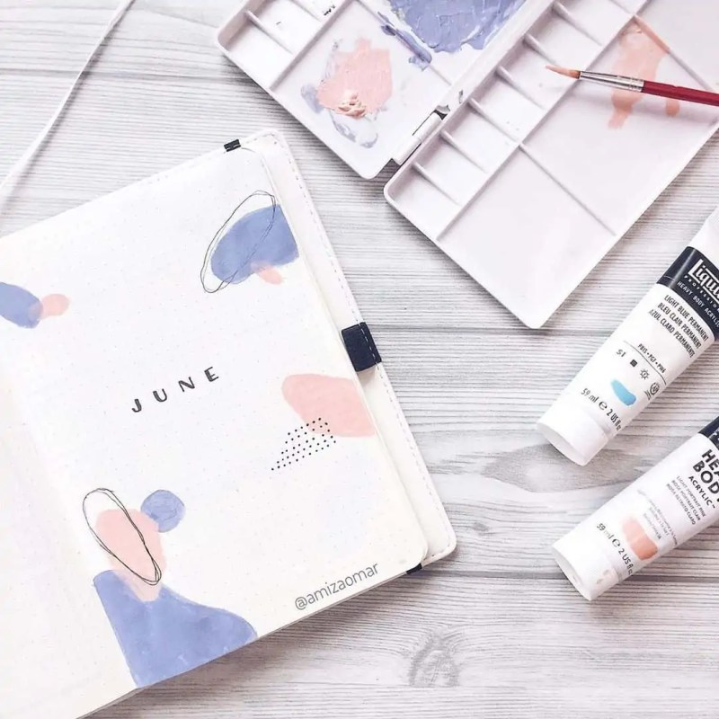 100+ Bullet Journal Ideas that you have to see and copy today! 506
