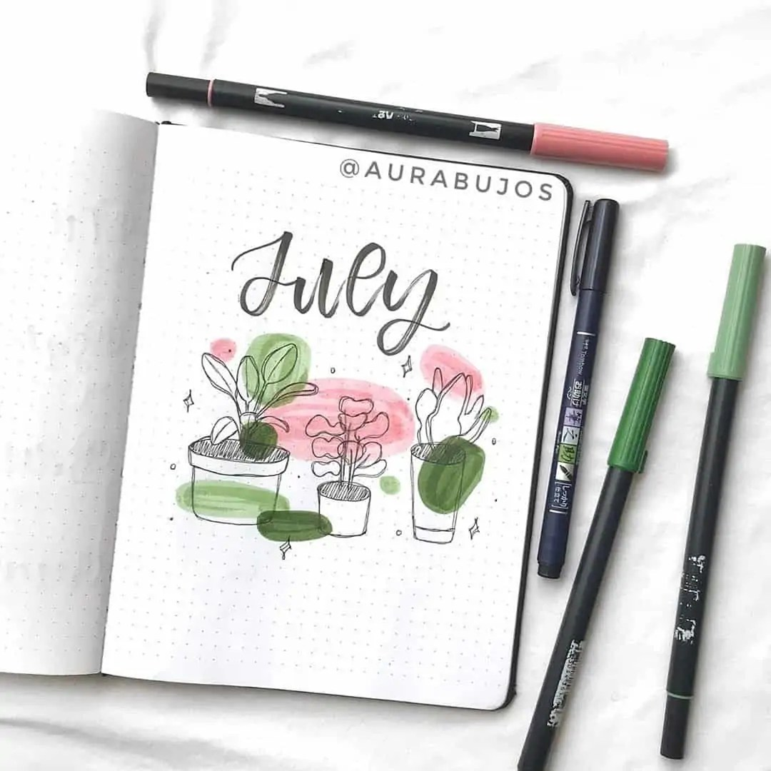 100+ Bullet Journal Ideas that you have to see and copy today! 306