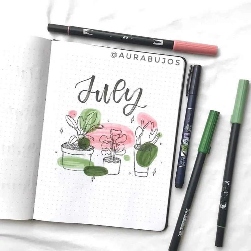 100+ Bullet Journal Ideas that you have to see and copy today! 566