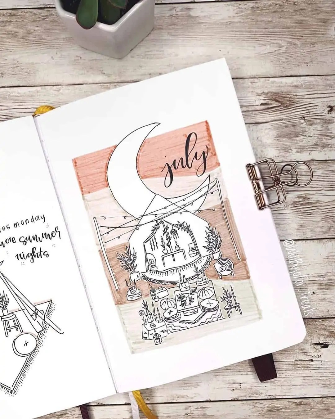 100+ Bullet Journal Ideas that you have to see and copy today! 302