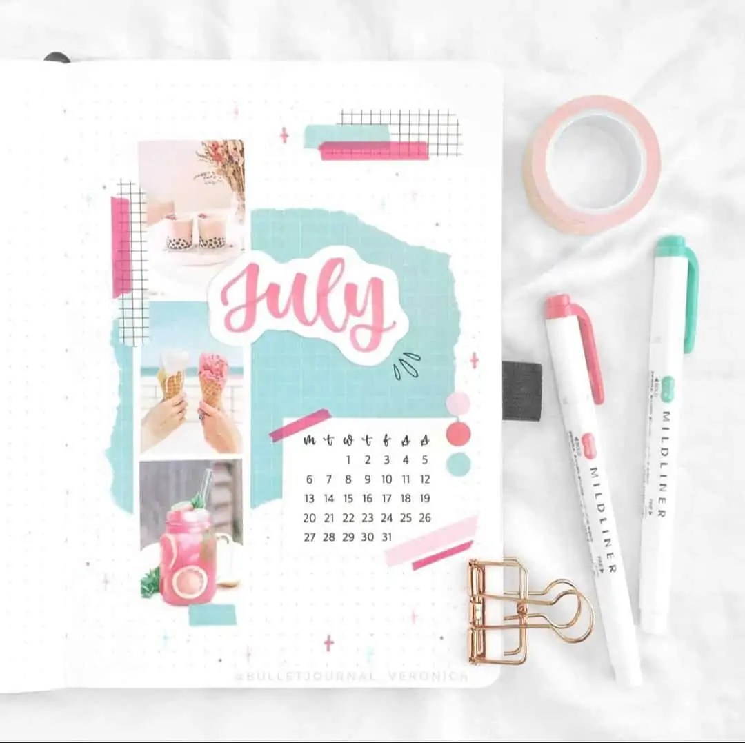 100+ Bullet Journal Ideas that you have to see and copy today! 298