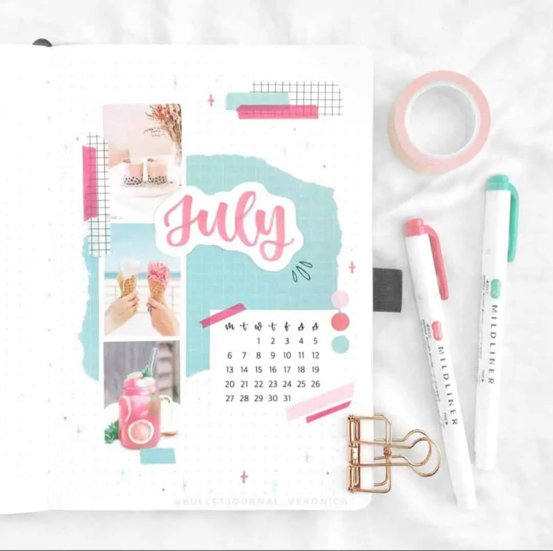 100+ Bullet Journal Ideas that you have to see and copy today! 558