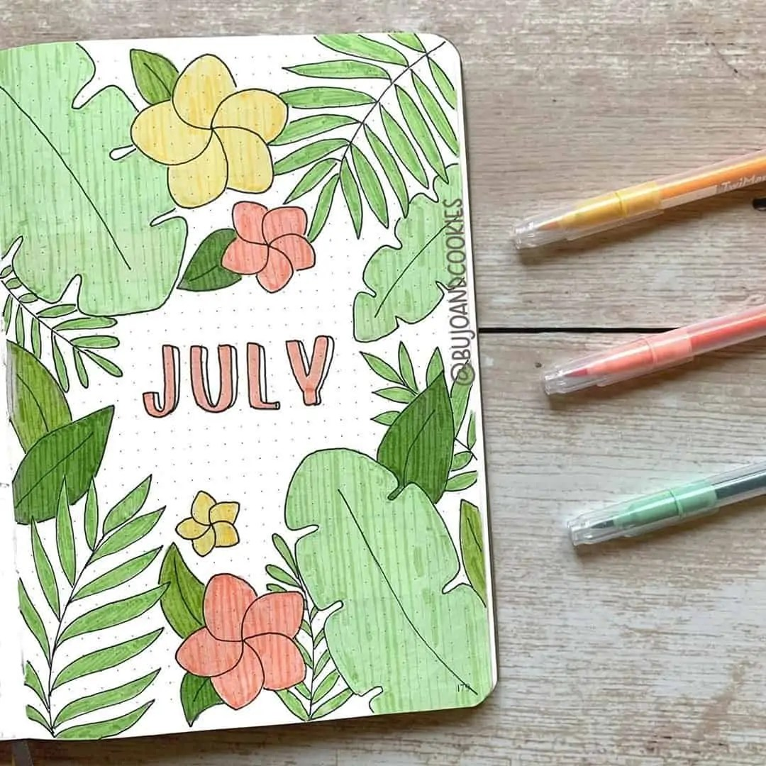 100+ Bullet Journal Ideas that you have to see and copy today! 286