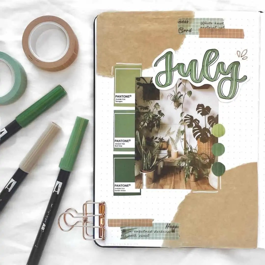 100+ Bullet Journal Ideas that you have to see and copy today! 284
