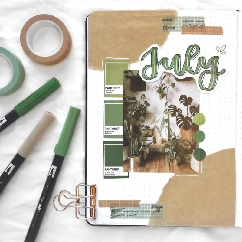 100+ Bullet Journal Ideas that you have to see and copy today! 544