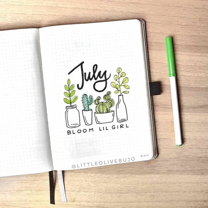 100+ Bullet Journal Ideas that you have to see and copy today! 542