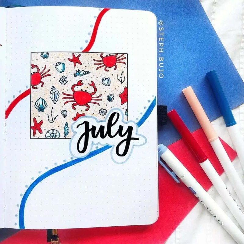 100+ Bullet Journal Ideas that you have to see and copy today! 540