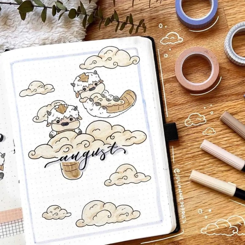 100+ Bullet Journal Ideas that you have to see and copy today! 596