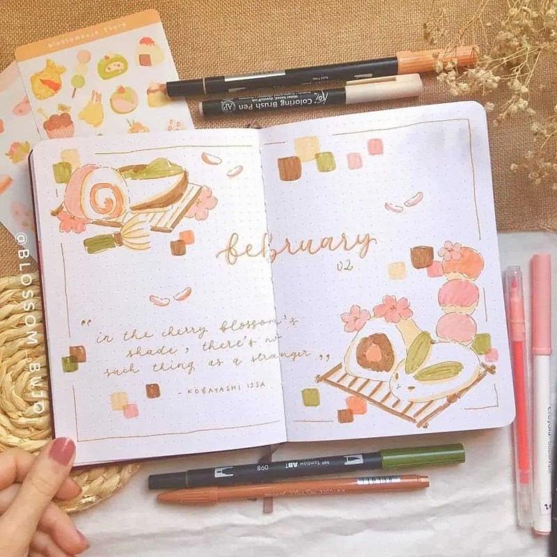 100+ Bullet Journal Ideas that you have to see and copy today! 315