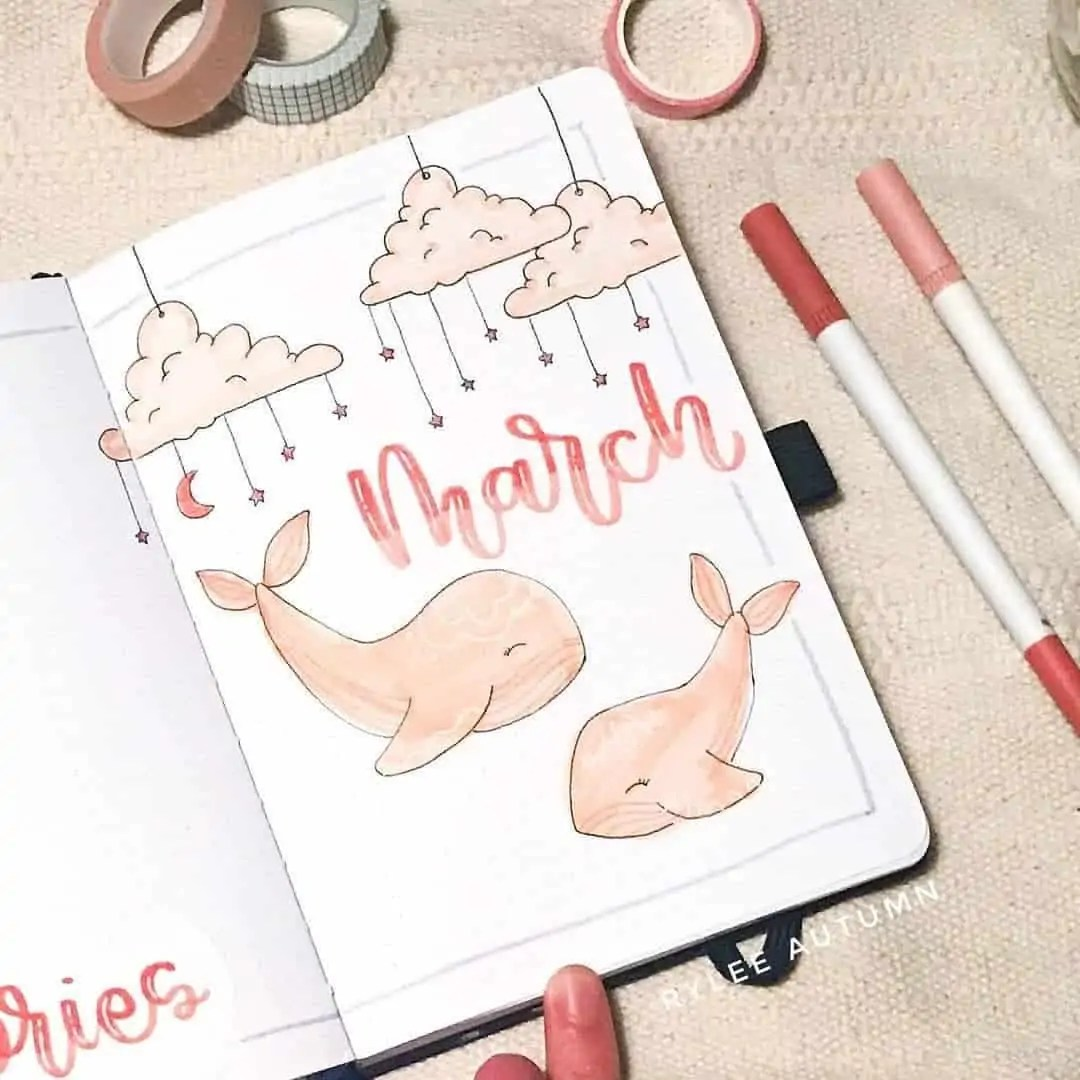 100+ Bullet Journal Ideas that you have to see and copy today! 100