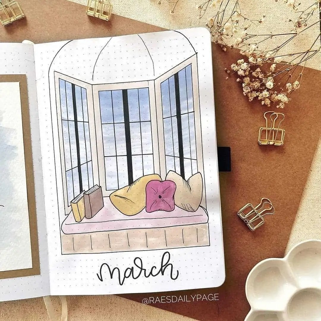 100+ Bullet Journal Ideas that you have to see and copy today! 90
