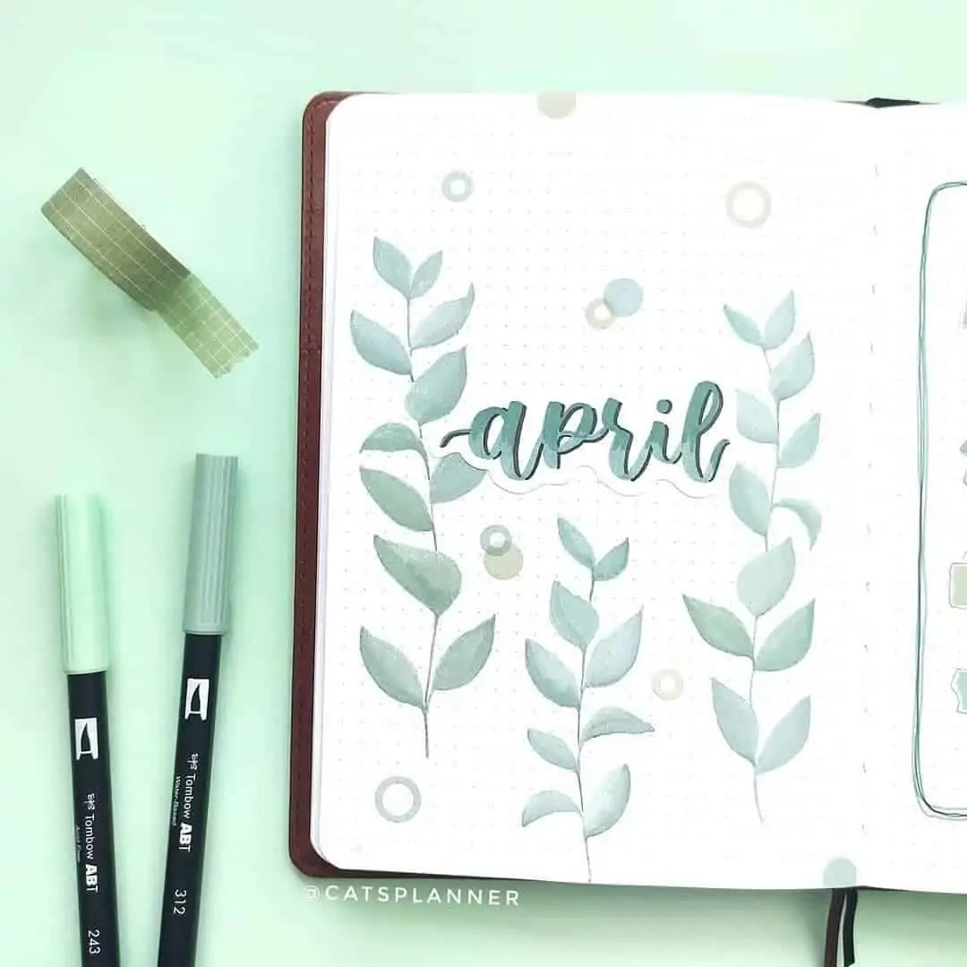 100+ Bullet Journal Ideas that you have to see and copy today! 162