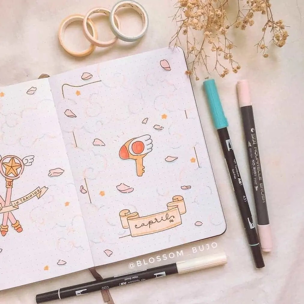 100+ Bullet Journal Ideas that you have to see and copy today! 160