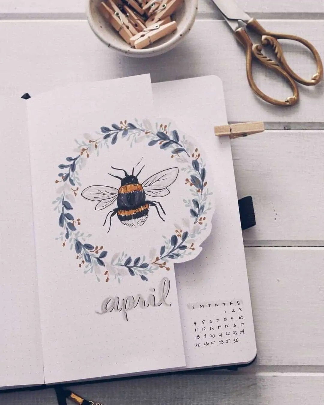 100+ Bullet Journal Ideas that you have to see and copy today! 158