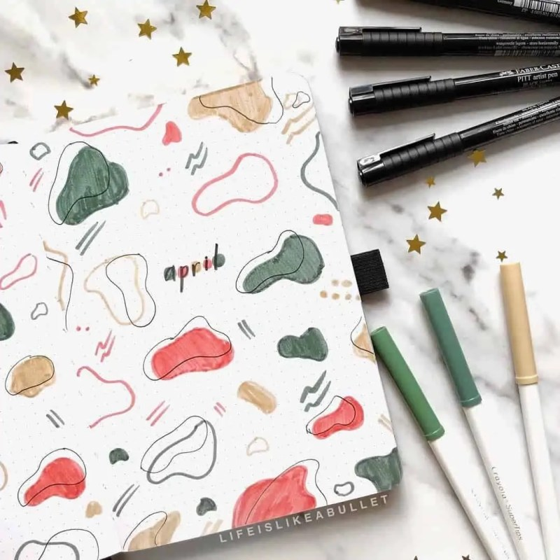 100+ Bullet Journal Ideas that you have to see and copy today! 416