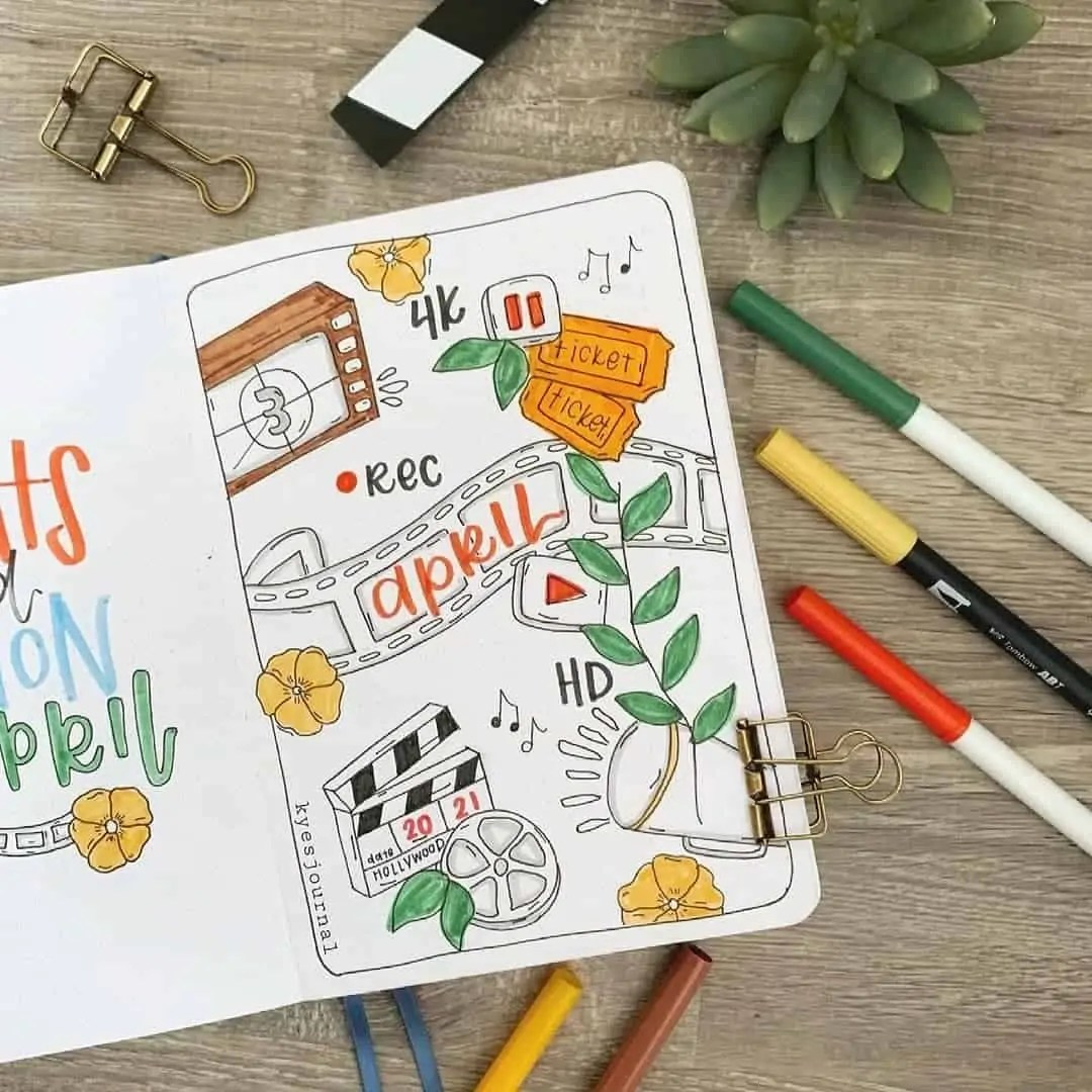 100+ Bullet Journal Ideas that you have to see and copy today! 150
