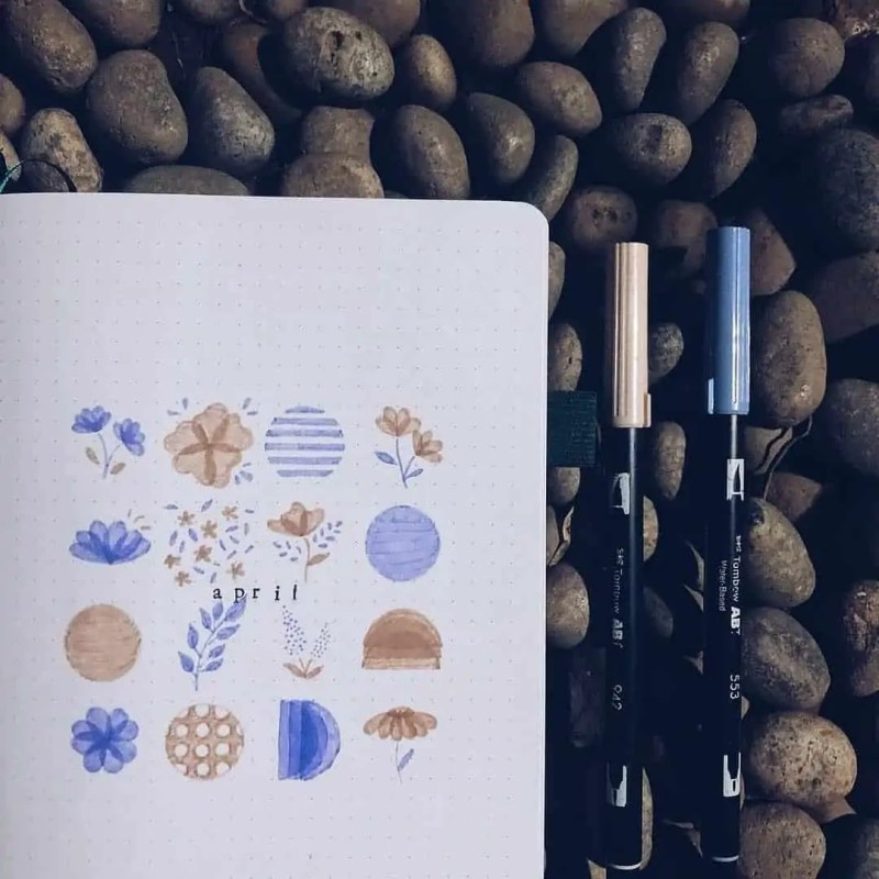 100+ Bullet Journal Ideas that you have to see and copy today! 398