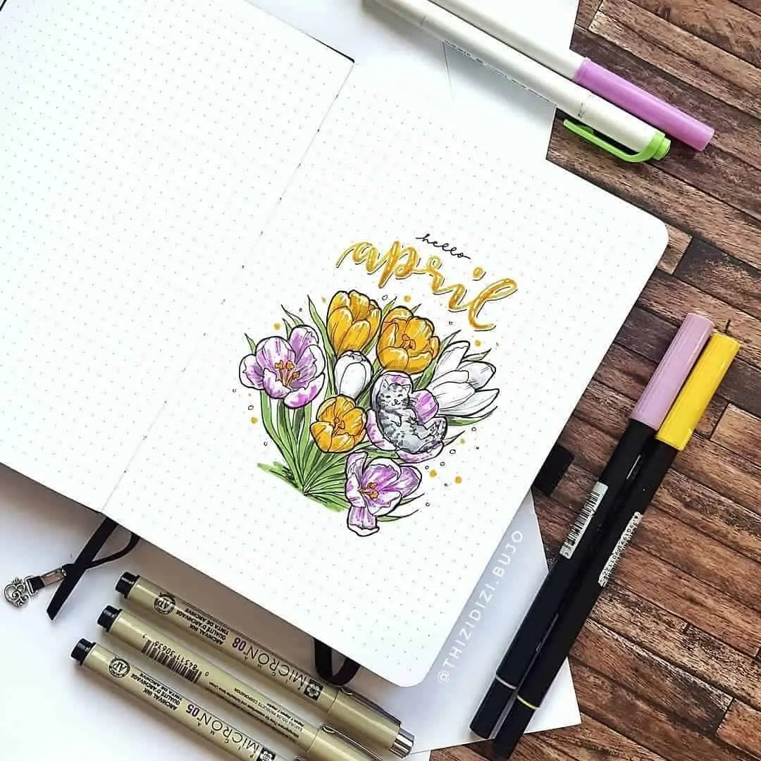 100+ Bullet Journal Ideas that you have to see and copy today! 136