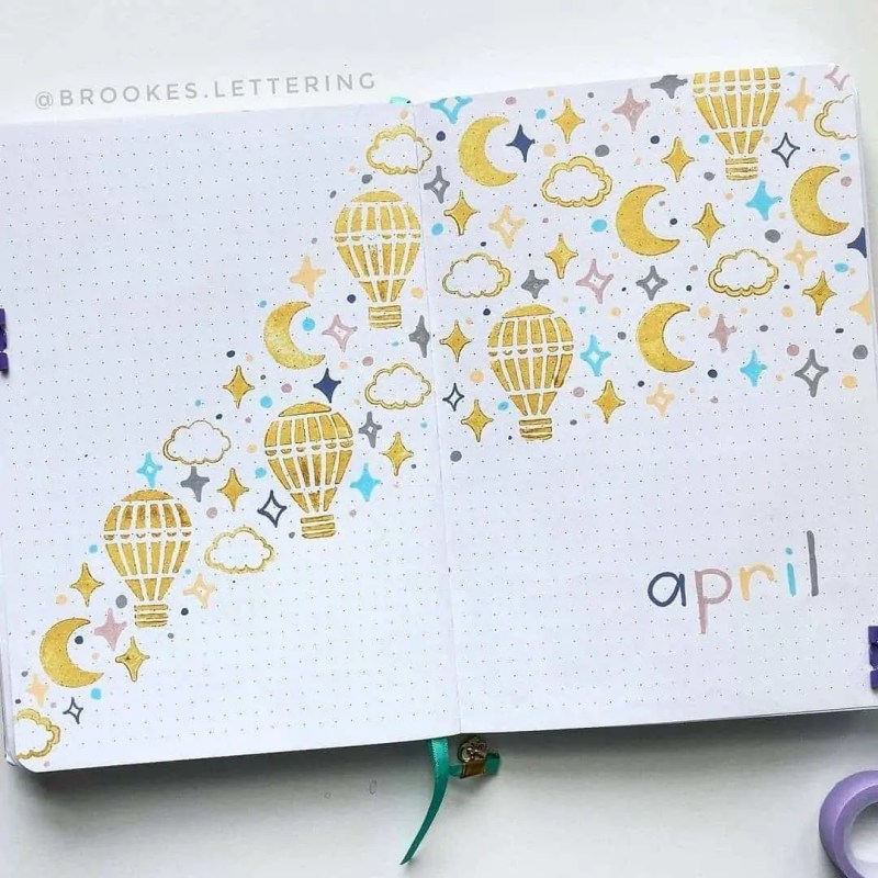 100+ Bullet Journal Ideas that you have to see and copy today! 386