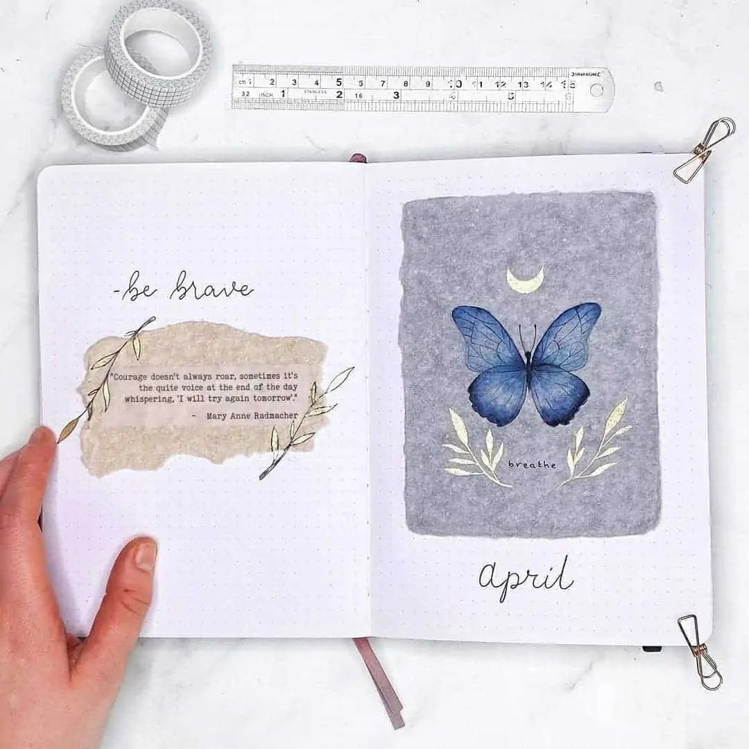 100+ Bullet Journal Ideas that you have to see and copy today! 116