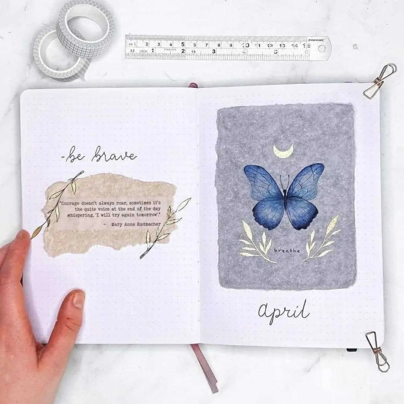 100+ Bullet Journal Ideas that you have to see and copy today! 376