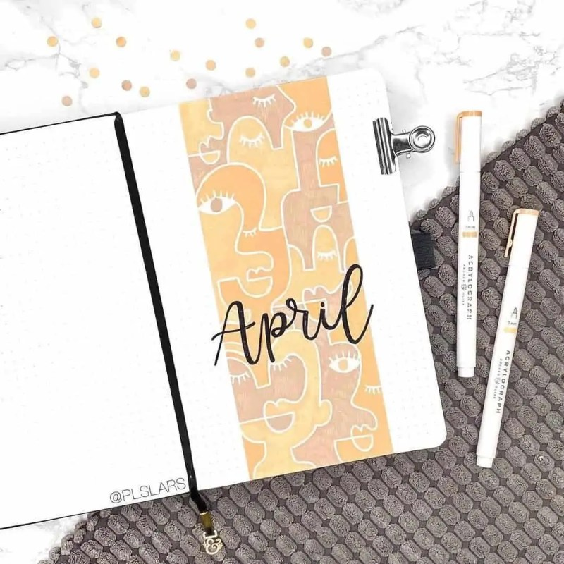 100+ Bullet Journal Ideas that you have to see and copy today! 374