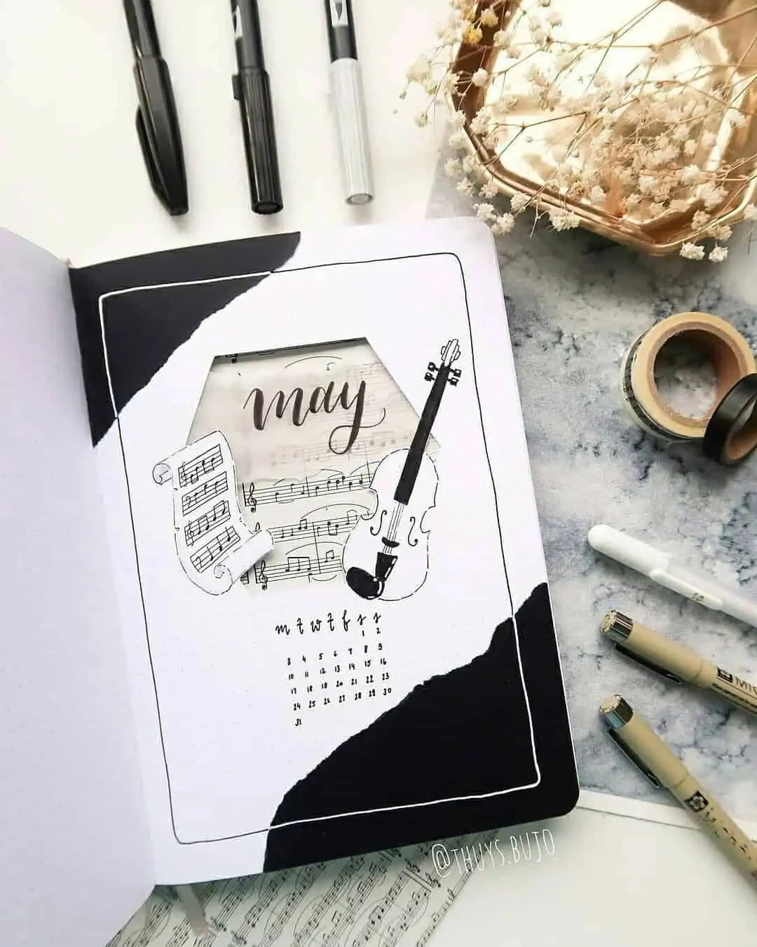 100+ Bullet Journal Ideas that you have to see and copy today! 186