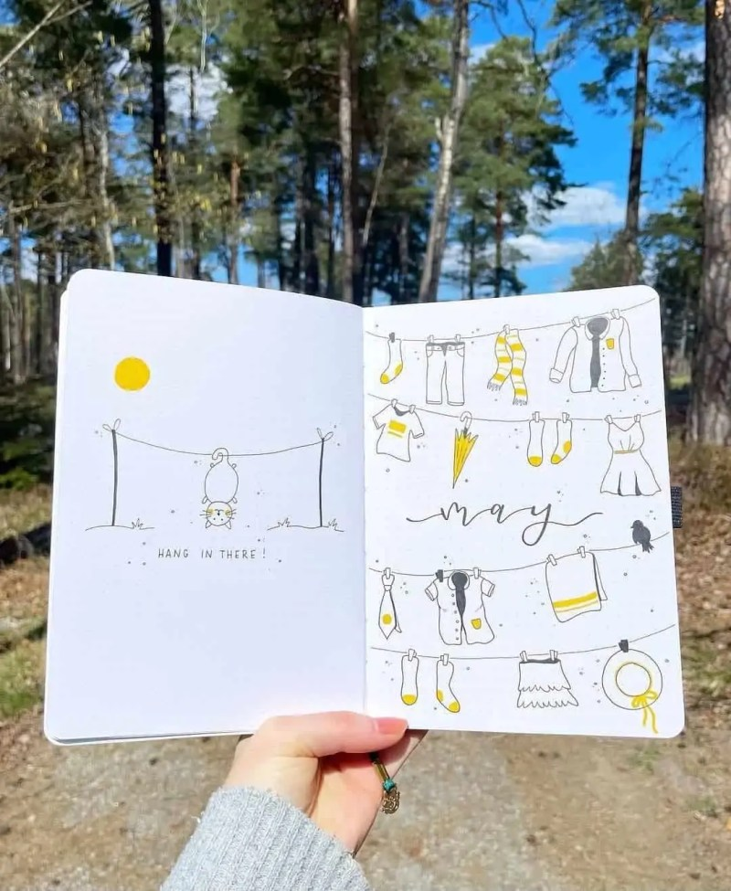 100+ Bullet Journal Ideas that you have to see and copy today! 452