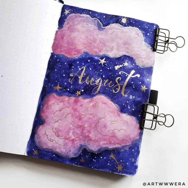 100+ Bullet Journal Ideas that you have to see and copy today! 654
