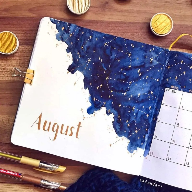100+ Bullet Journal Ideas that you have to see and copy today! 644