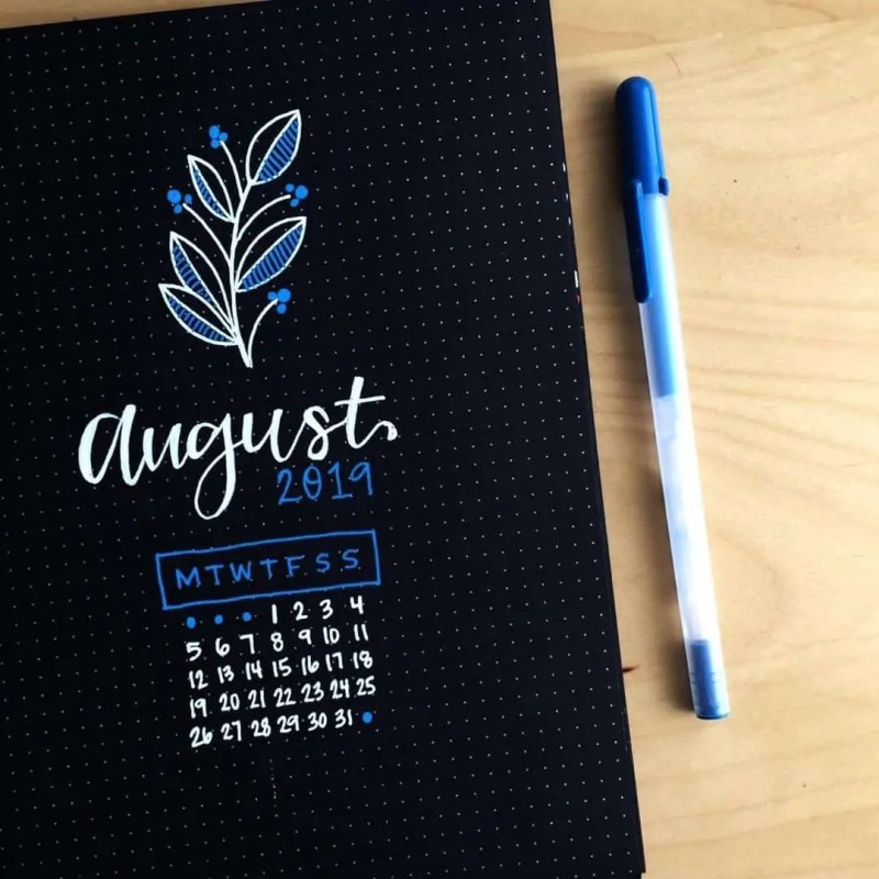 100+ Bullet Journal Ideas that you have to see and copy today! 640