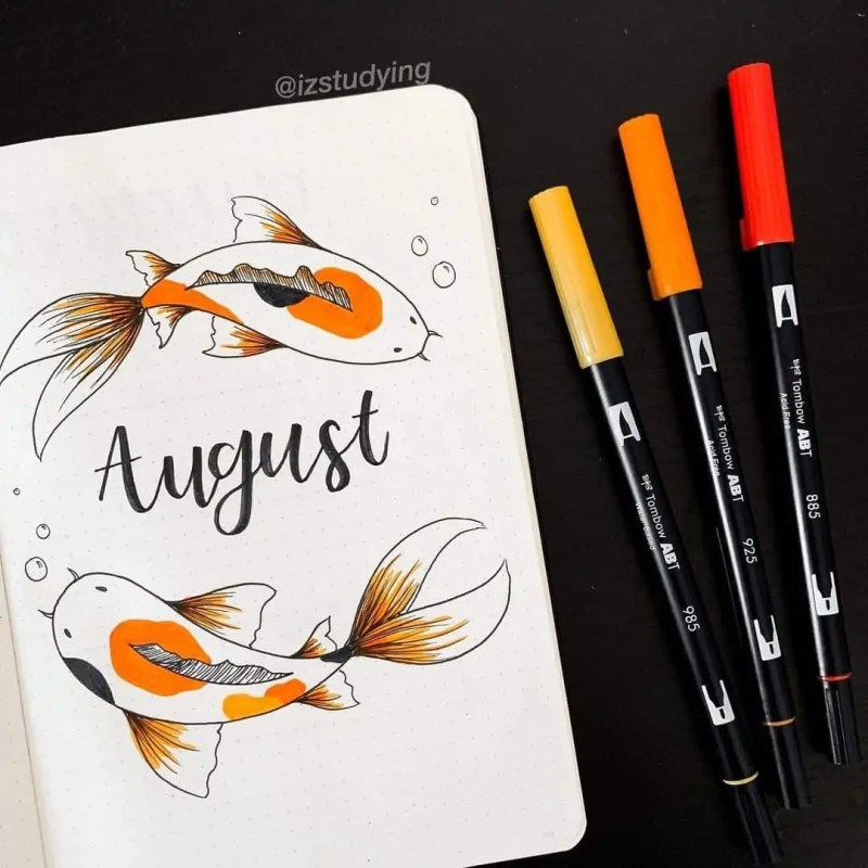 100+ Bullet Journal Ideas that you have to see and copy today! 628