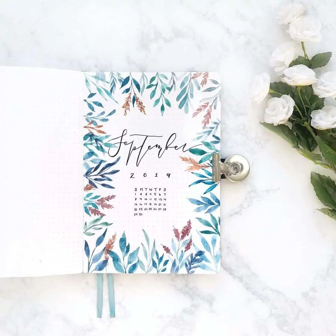 100+ Bullet Journal Ideas that you have to see and copy today! 446