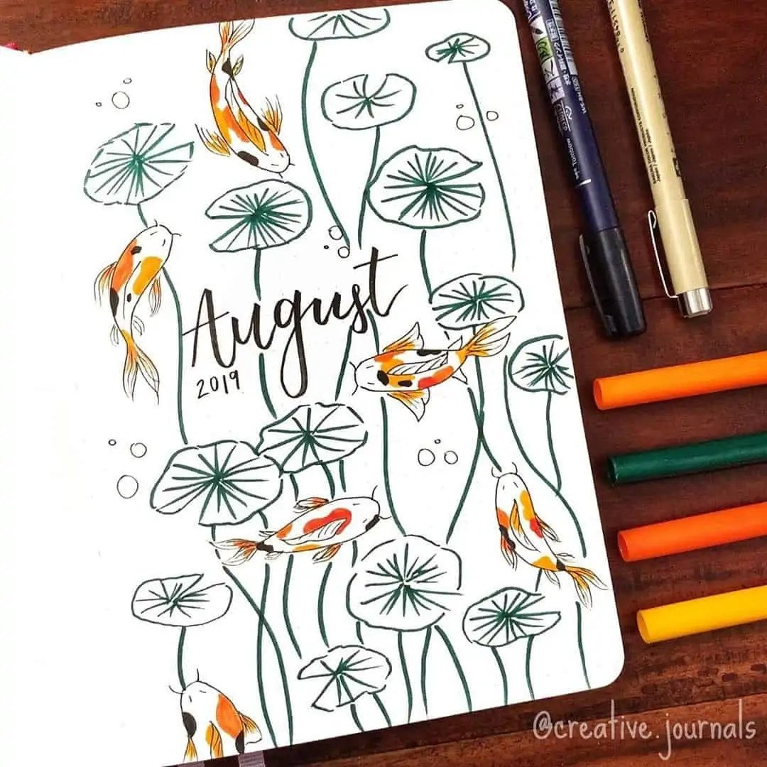 100+ Bullet Journal Ideas that you have to see and copy today! 346