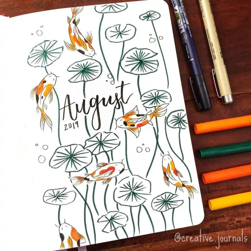 100+ Bullet Journal Ideas that you have to see and copy today! 606