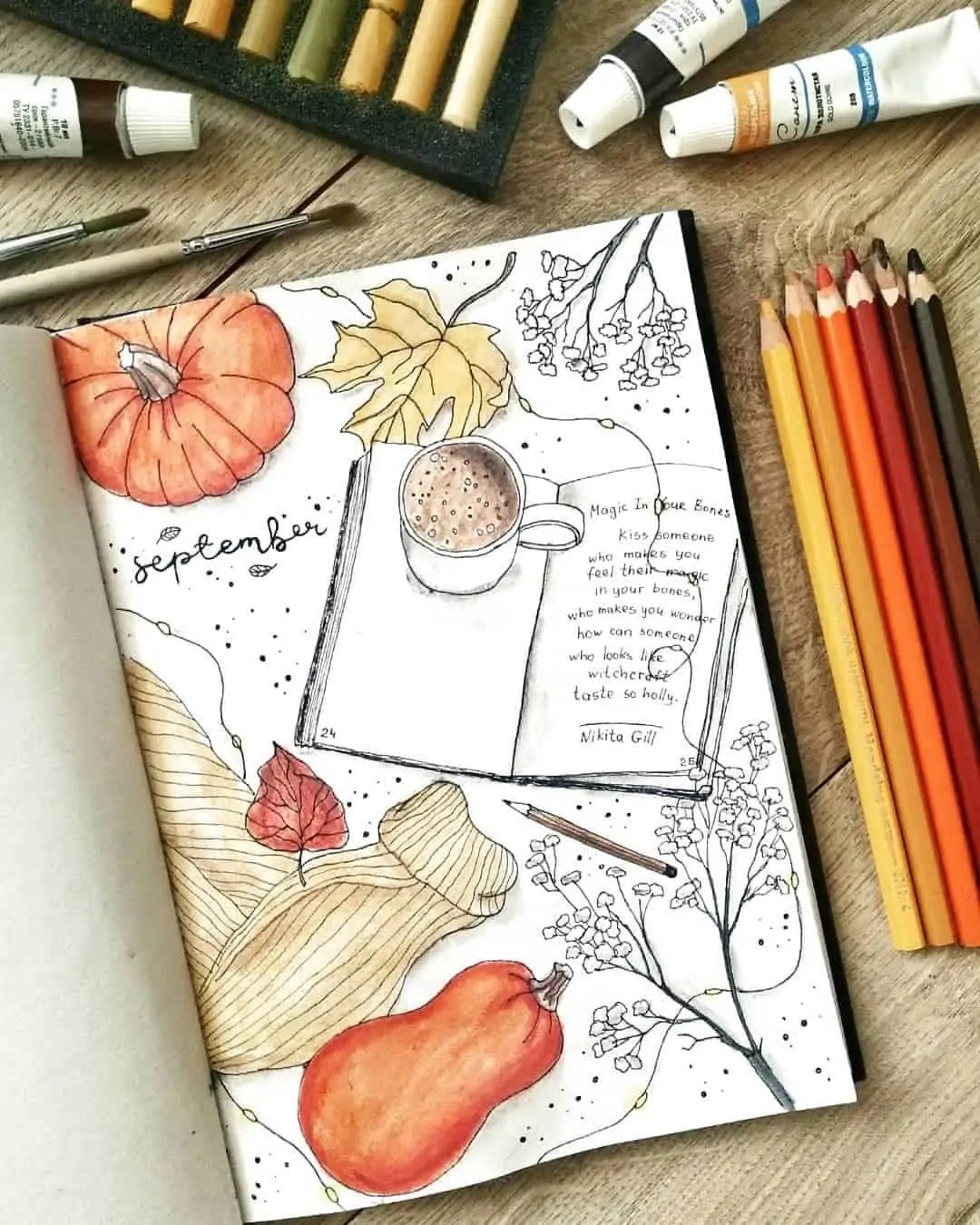 100+ Bullet Journal Ideas that you have to see and copy today! 422